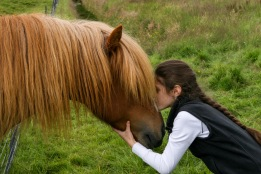 Me in Iceland with Icelandic Pony