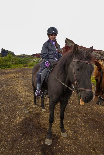Me on Icelandic Pony Neo