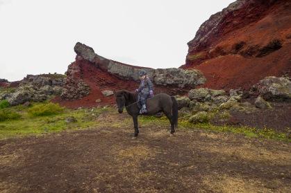 Me on Icelandic Pony Neo