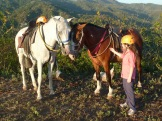 Me with Horses in Costa Rica