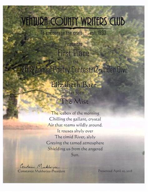Ventura Certificate