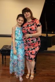 Ms. Irina and me