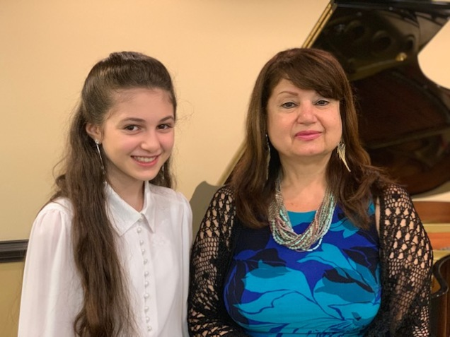 Ms Irina and I
